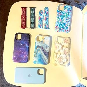 Extra Watch bands/phone cases
